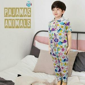 Setelan Baju Tidur Piyama Anak Laki-laki Keren Lucu Modern Model Terbaru dan Murah