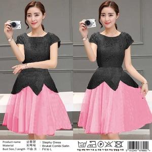 Baju Mini Dress Pendek Pesta Wanita Modern Model Terbaru