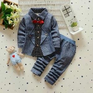 Setelan Baju Kombinasi Rompi dan Celana Panjang Anak Laki-laki Keren