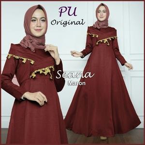 Baju Gamis Long Dress Muslim Pesta Model Terbaru