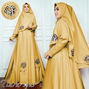 Baju Gamis Syari Setelan Pakaian Muslim Wanita Modern