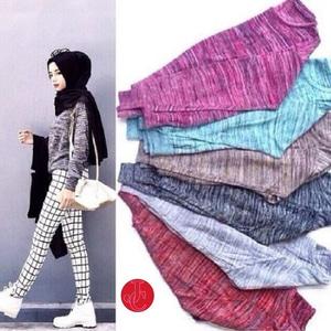 Baju Atasan Wanita Blouse Bahan Rajut Twist Lengan Panjang