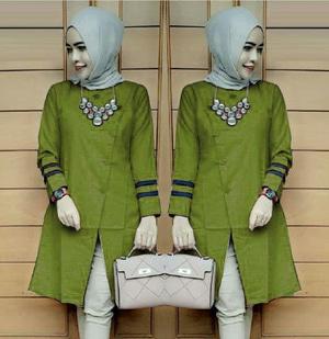 Baju Atasan Wanita Lengan Panjang Trend Masa Kini