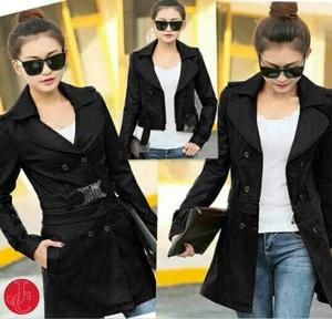 Baju Blazer Coat Wanita Warna Hitam Model Terbaru