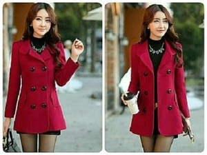 Blazer Coat Wanita Cantik Modern Model Terbaru ala Korea