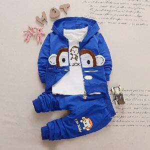 Setelan 3 in 1 Baju Jaket dan Celana Panjang Anak Laki-laki