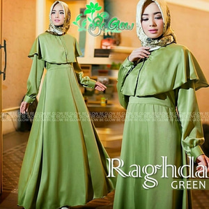 Baju Gamis Pesta Long Dress Muslim Bahan Satin Modern