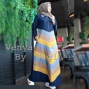 Model Baju Gamis Maxy Long Dress Hijab Cantik Terbaru