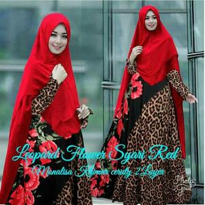 Model Baju Pakaian Muslimah Gamis Syari Modern Terbaru
