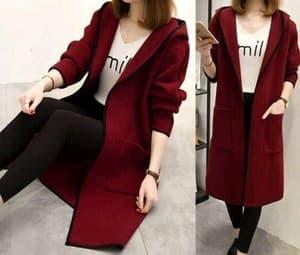 Baju Cardigan Panjang Wanita Modern Model Terbaru