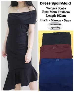 Baju Mini Dress Pendek Pesta Model Mermaid Terbaru
