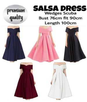 Baju Mini Dress Pendek Pesta Sabrina Model Terbaru