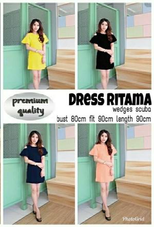 Baju Mini Dress Pendek Wanita Bahu Bolong Modern