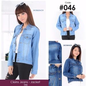 Jaket Wanita Bahan Jeans Keren Model Terbaru