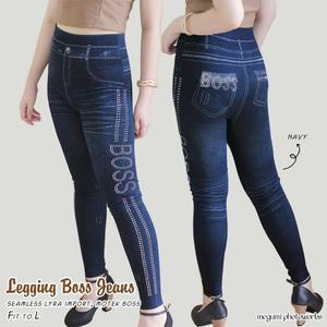Model Celana Legging Jeans Panjang Wanita Terbaru
