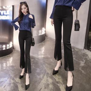 Model Celana Panjang Cutbray Lace Wanita Terbaru