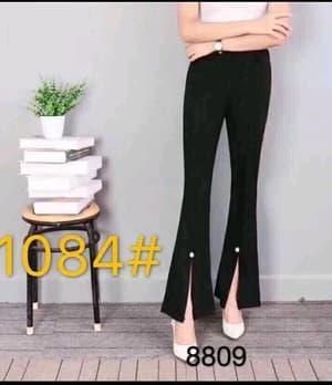 Model Celana Panjang Cutbray Wanita Mutiara Terbaru