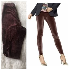 Model Celana Panjang Wanita Legging Bludru Polos
