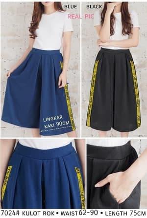 Model Celana Pendek Kulot Wanita Modern Terbaru