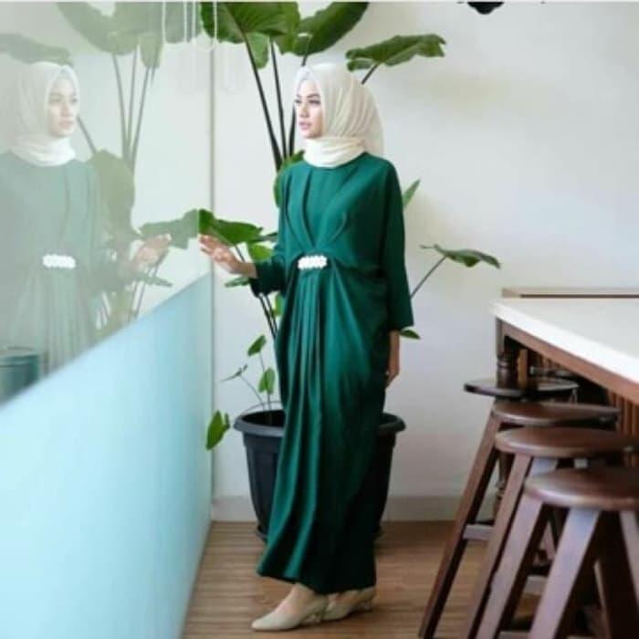 Baju Long Dress Hijab Gamis Kaftan Model Terbaru | RYN Fashion