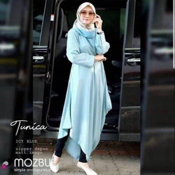 Model Baju Atasan Muslimah Wanita Tunik Terbaru