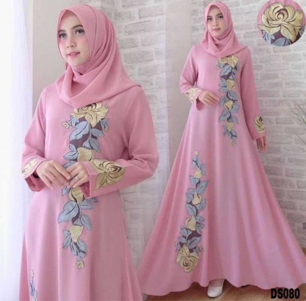 Baju Gamis Abaya Pesta Setelan Hijab Model Terbaru