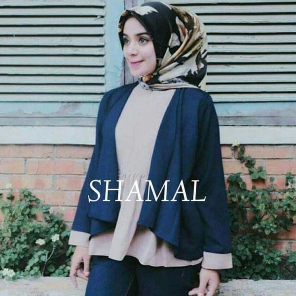 Model Baju Atasan Hijab Wanita Lengan Panjang Modis