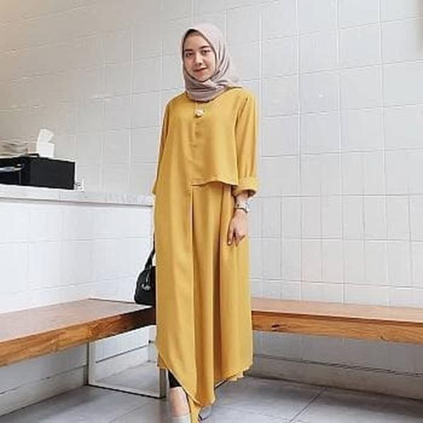 Model Baju Atasan Wanita Blouse Hijab Tunik Modis