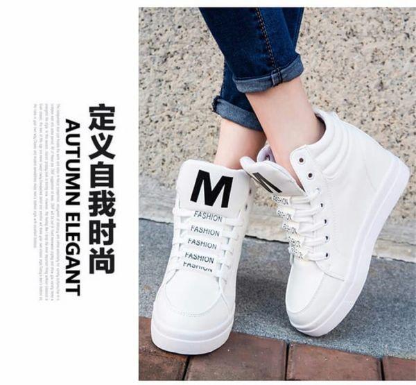 Sepatu Boots Wedges Tali Wanita Model Terbaru