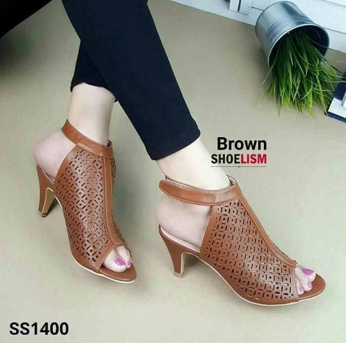 Sepatu Sandal High Heels Laser Wanita Model Terbaru | RYN ...