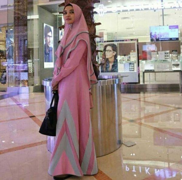 Setelan Baju Gamis Syari Modern Model Terbaru