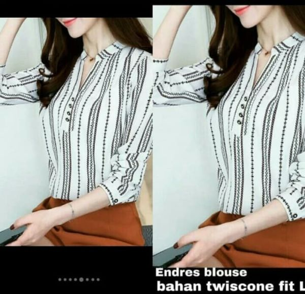 Baju Atasan Wanita Modern Motif Cantik Terbaru
