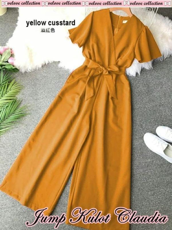 Baju Jumpsuit Kulot Wanita Cantik Model Terbaru