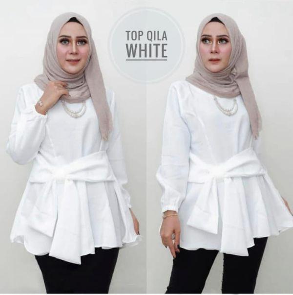Model Baju Atasan Wanita Muslim Panjang Terbaru