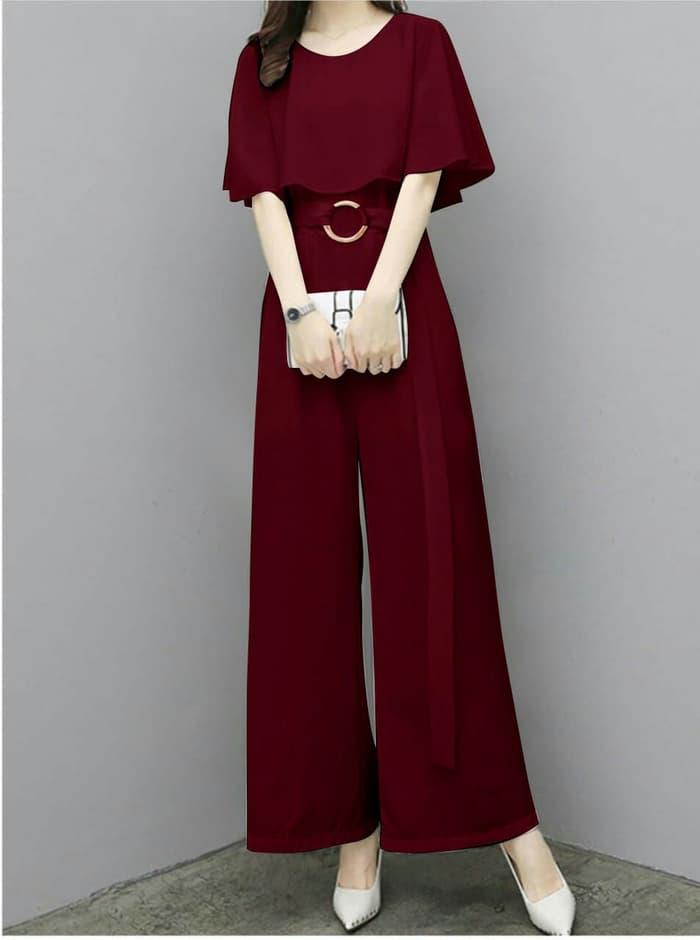 Model Baju Jumpsuit Panjang Cantik Ala Korea RYN Fashion