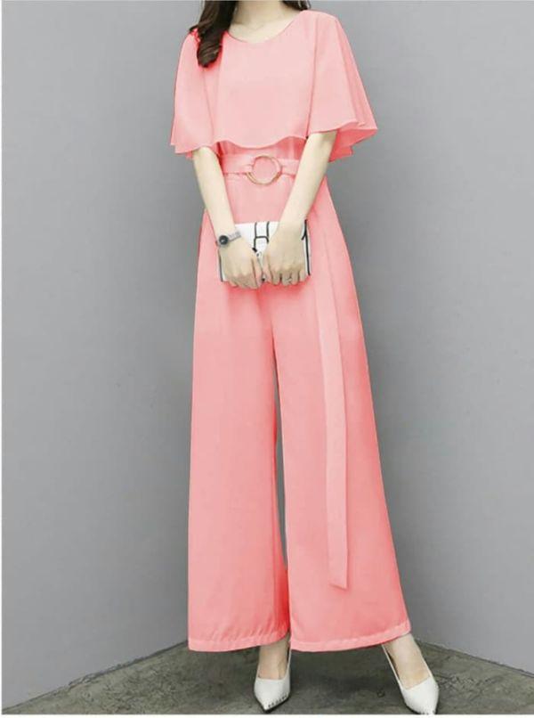 Model Baju Jumpsuit Panjang Cantik Ala Korea
