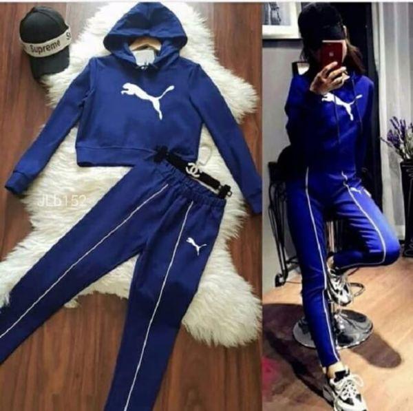 Setelan Baju Jaket Hoodie dan Celana Panjang Wanita