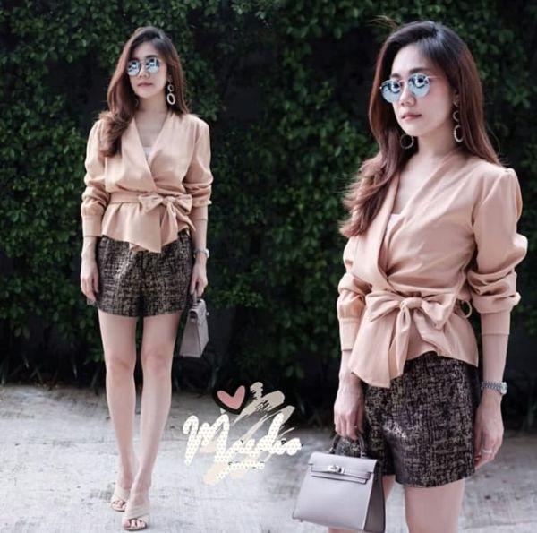 Baju Atasan Wanita Blouse Kimono Pita Cantik
