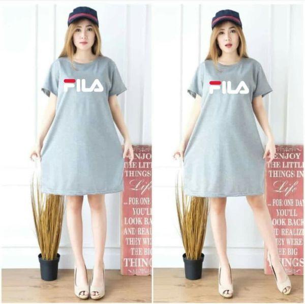Baju Mini Dress Pendek Bahan Kaos Model Terbaru
