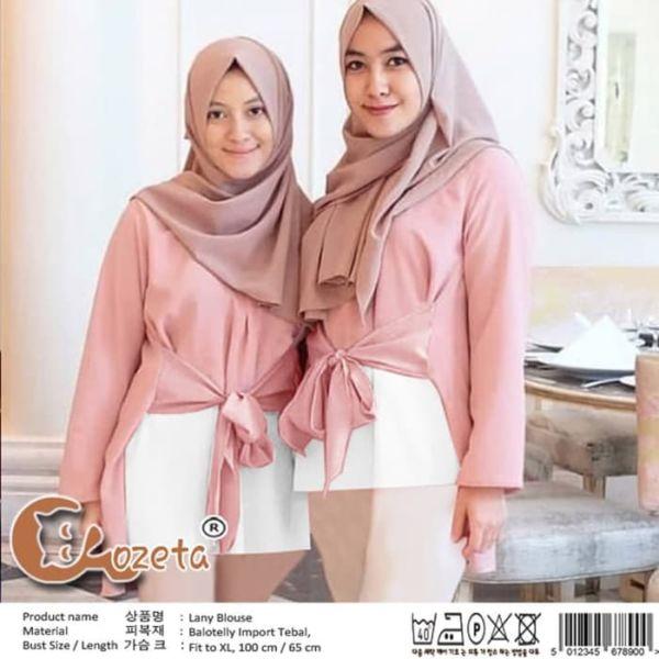 Model Baju Atasan Wanita Lengan Panjang Muslim
