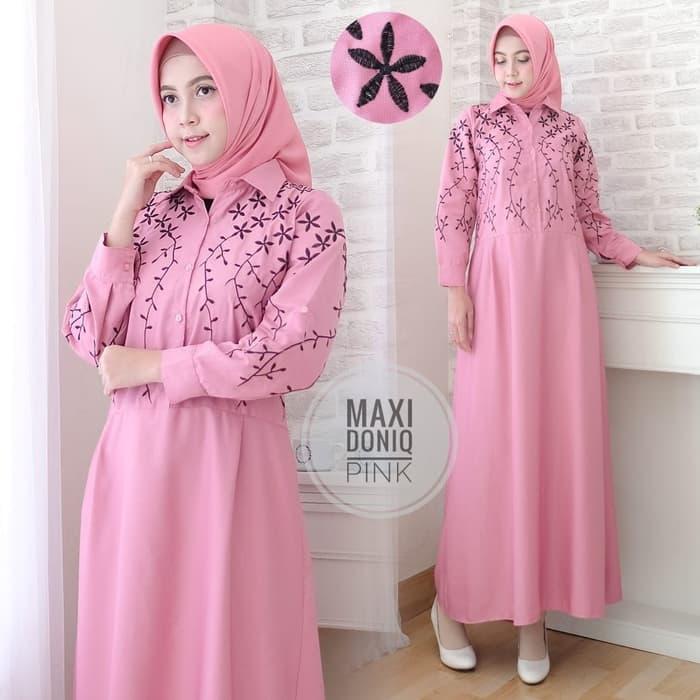 Gamis Modern Masa Kini Baju Busana Muslim Pria Wanita