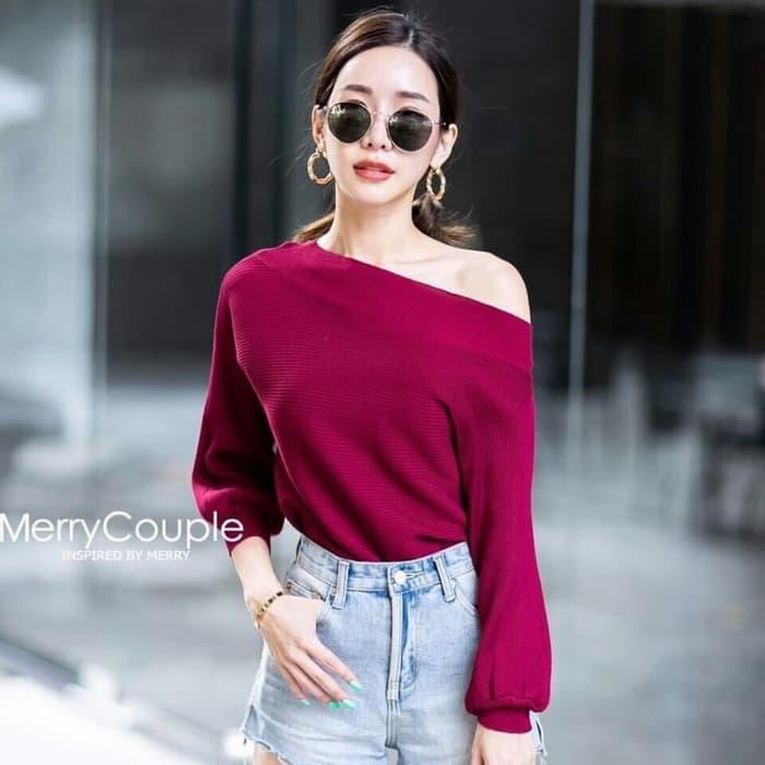 Baju  Blouse Anak  Remaja  Lengan Panjang  Model  Sabrina RYN