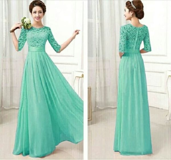 Baju Long Dress Gaun Cantik Dewasa Model Terbaru