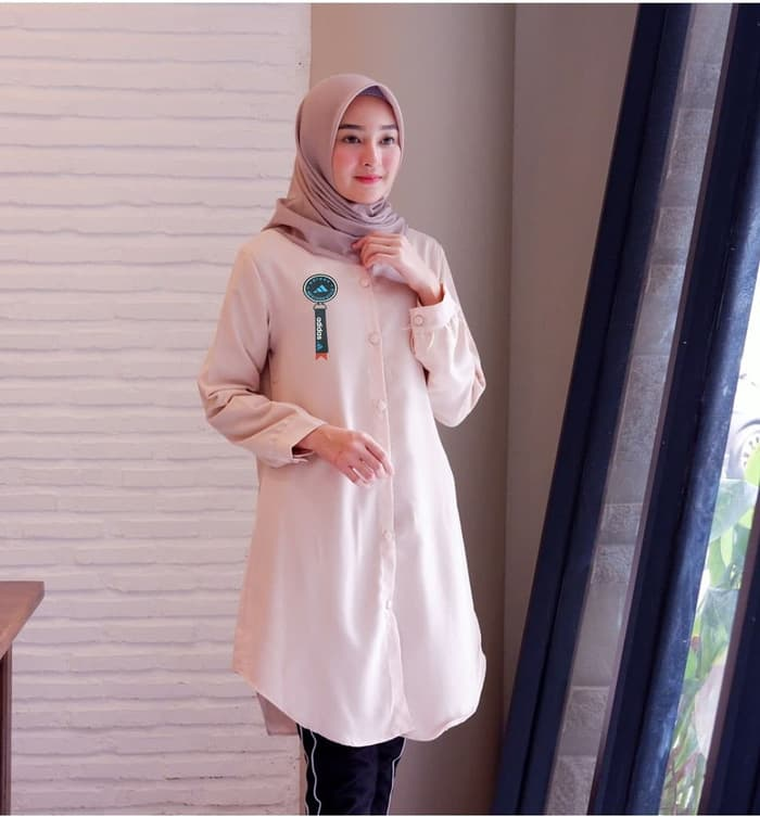 Model Baju Tunik Lengan Panjang Remaja Kekinian RYN Fashion