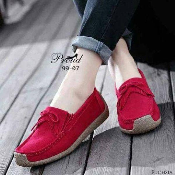 Sepatu Teplek Flat Shoes Wanita Modern Model Terbaru