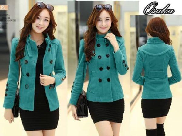 Blazer Wanita Cantik Modern Ala Coat Fashion Korea