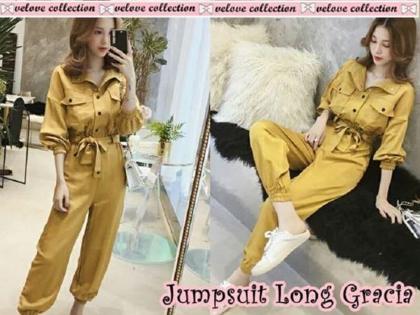 Model Baju Jumpsuit Cantik Modern Ala Korea