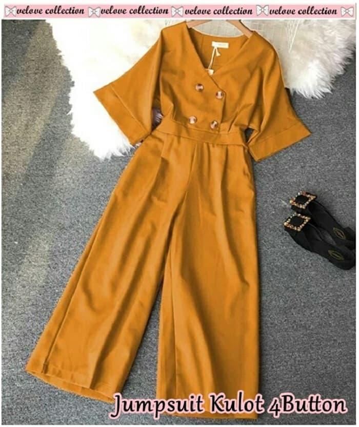 Model Baju Jumpsuit Kulot Cantik Modern Terbaru | RYN Fashion