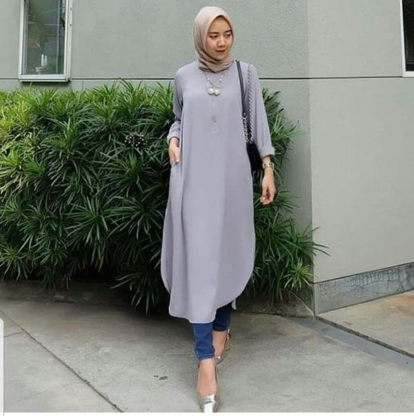 Model Baju Tunik Wanita Lengan Panjang Terbaru