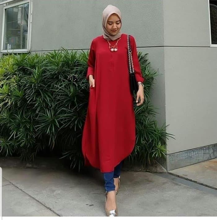 Model Baju Tunik Wanita Lengan Panjang Terbaru RYN Fashion